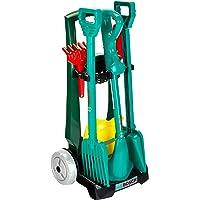 Theo Klein 2751 Chariot De Jardinage Bosch Avec Accessoires Kleine Chario tuinhandschoenen, groen