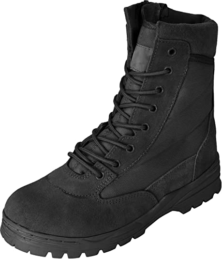 Mc Allister - Zapatos de cordones de Piel para hombre negro negro, color negro, talla 45 EU
