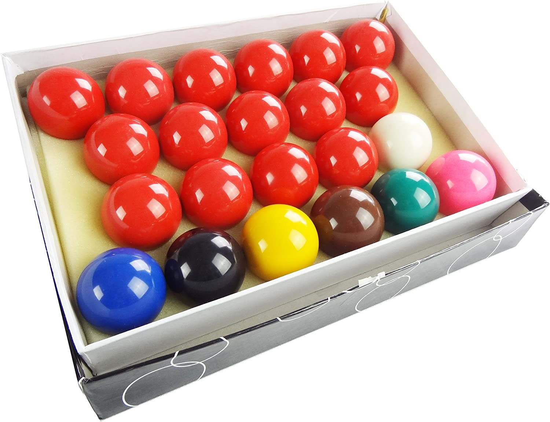 T/&R sports 2 1//16 Billiard Snooker Ball Set