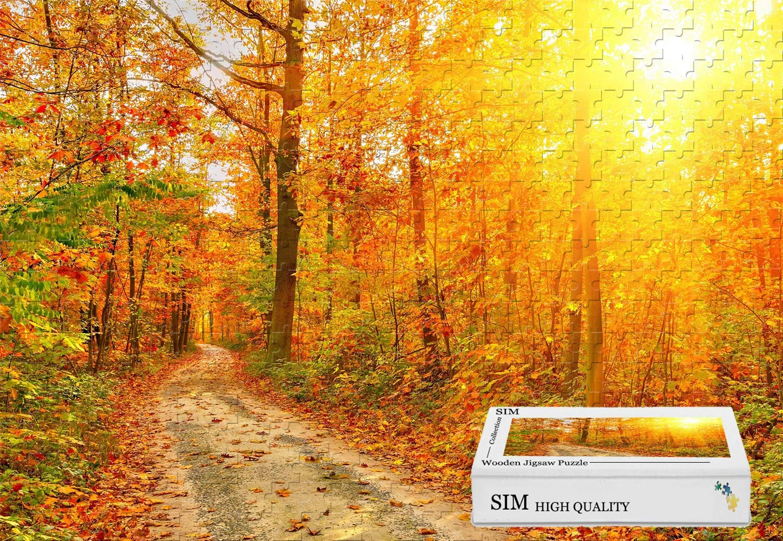 春先取りの 木の素材と接着剤 - - 森の木 パス サンレイ、34.4 X X 22.6インチ パス - 1500ピース ジグソーパズル B07HY9T3B9, フルウグン:f88f5211 --- sinefi.org.br