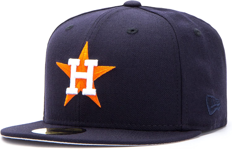New Era Houston Astros 59FIFTY Fitted Gorra, navy, Tamaño: 7 1/8 ...