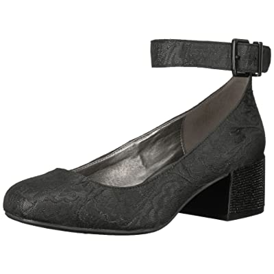 Kenneth Cole REACTION Women's Flip Around Round Toe Pump with Ankle Strap Stars Dress: Shoes
