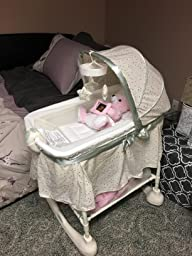 Amazon Com Kolcraft Cuddle N Care 2 In 1 Bassinet And Incline Sleeper Emerson Baby