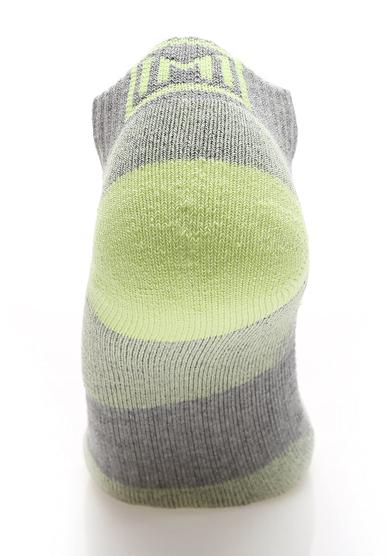 MIRMARU High Performance 6 Pairs Low Cut Athletic Running Cushion Sports Socks for Men /& Women