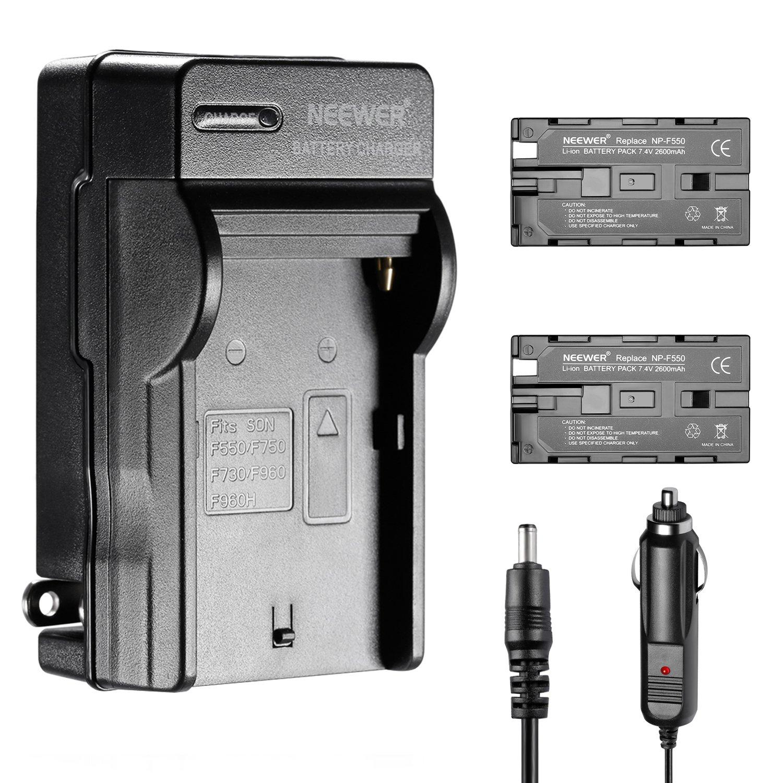 Kit de 2600 mAh Batería de iones de litio y cargador Neewer