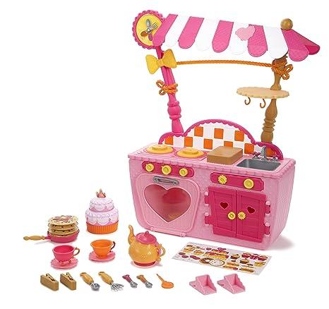 Amazon Com Lalaloopsy Magic Play Kitchen And Café Toys Games