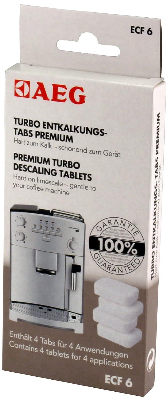 Kaffeemaschinen-Reiniger Tabs AEG 10 Stück Reinigungstabletten für CaFamosa-Kaf