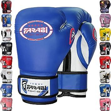 Farabi Boxing Gloves Sparring Training Kick Boxing Mitts Gloves