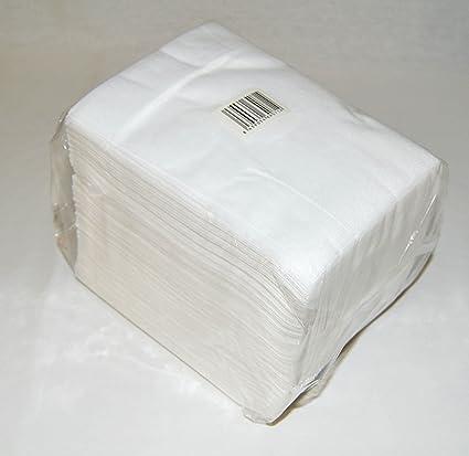 Toallas manicura desechables de spun-lace, 30x40 cm, 100 unidades.