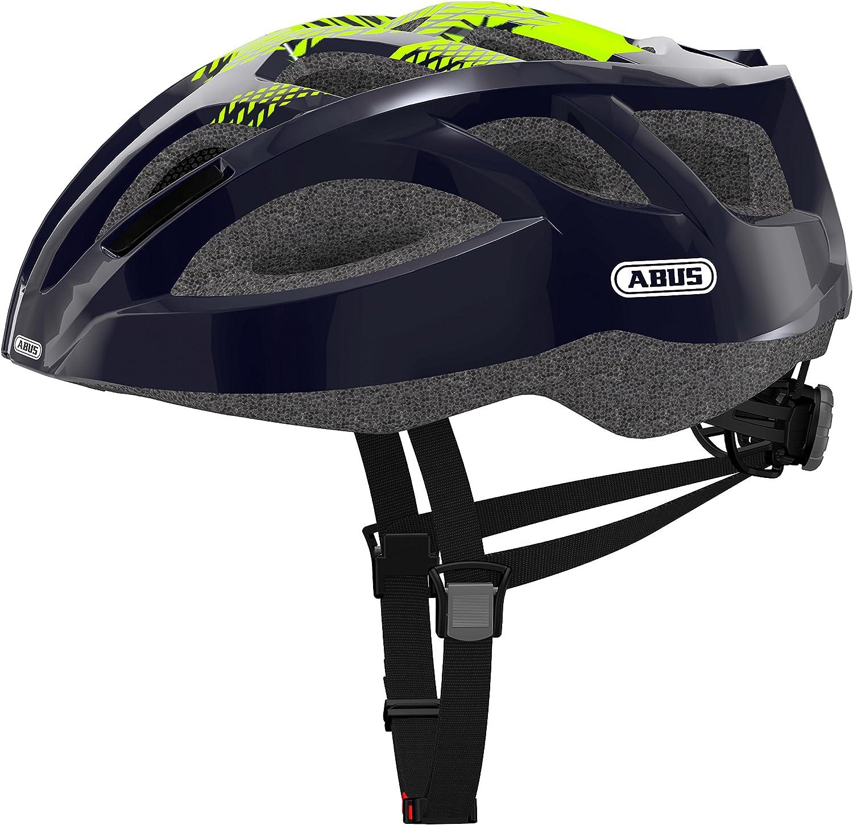 Abus Ambition Team Casco Bicicleta, Unisex Adulto, Azul, L: Amazon ...