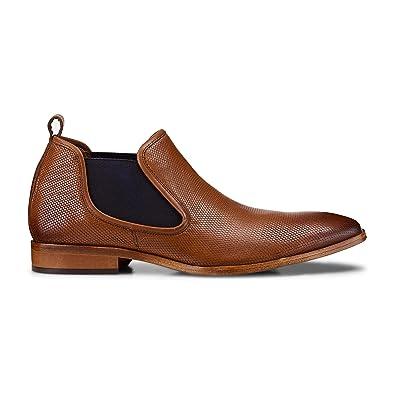 43fa6d74ad12ef Belmondo Herren Herren Chelsea Boots aus Leder