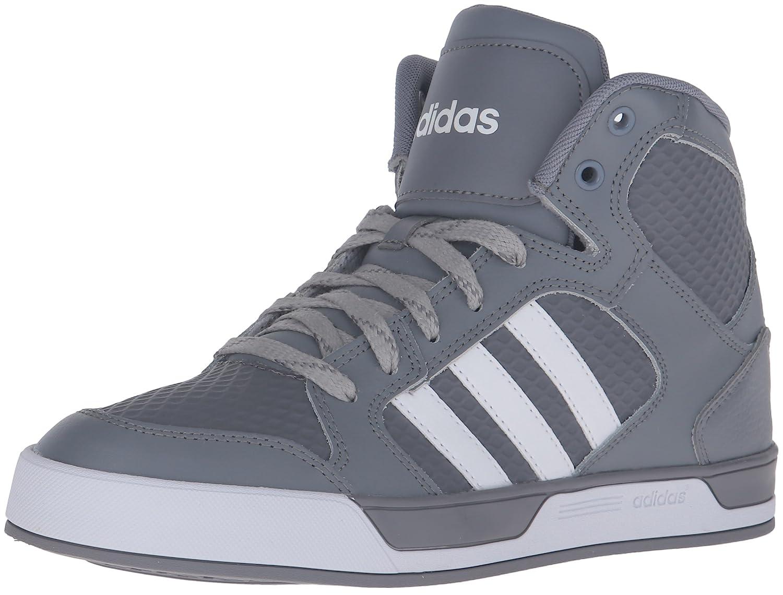 adidas neo - mens raleigh mitte schnürschuhe grau / weiß / grau - 100