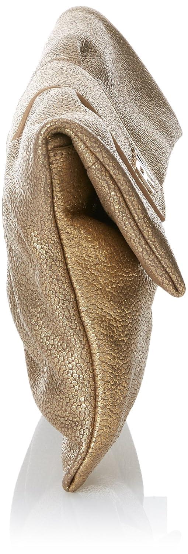 Roberto Verino Bolso Clutch Cannes Fantasía, Cartera de mano para Mujer, (Dorado), 5x17x29 cm (W x H x L): Amazon.es: Zapatos y complementos