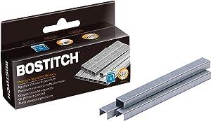 Bostitch Premium Staples for Jam-Free Stapling, 0.25 Inch, Full Strip, 5,000 Staples/Box