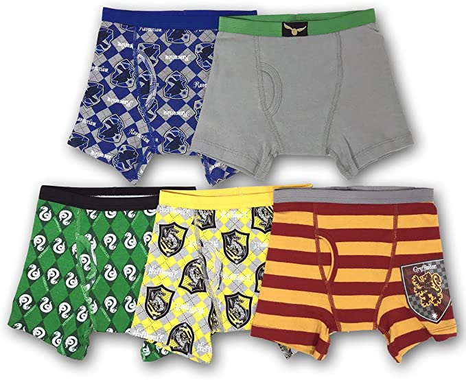 Harry Potter Boys Underwear Pack of 4