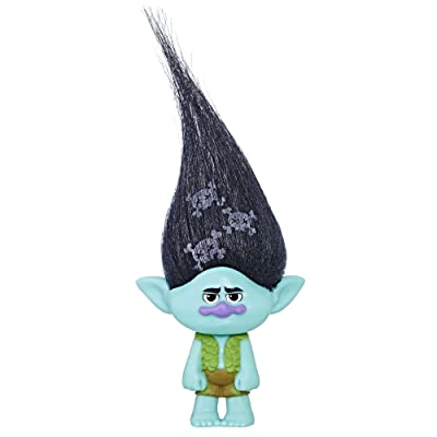 DreamWorks Trolls Branch Collectible Figure with Printed Hair: Toys & Games
