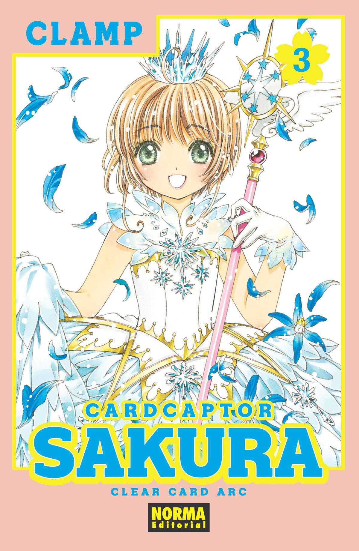 Card Captor Sakura Clear Card Arc 3 Tapa blanda – 31 oct 2018 CLAMP NORM8 #Norma Editorial 8467932791 FX
