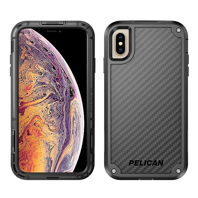 best website 477fe 2fa07 Pelican Shield iPhone XS Max Case with Kevlar brand fibers (Black)