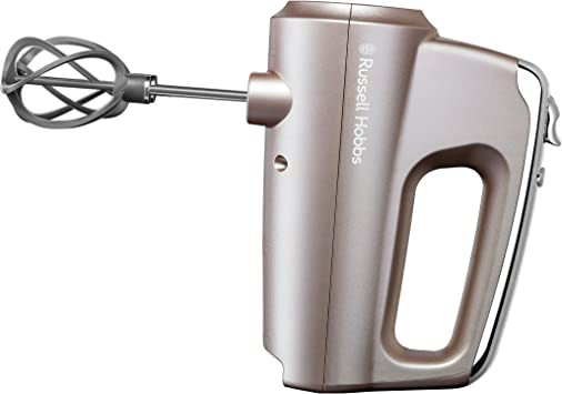 Russell Hobbs Swirl Smoky Quartz - Batidora amasadora (2 varillas, 2 ganchos, 5 velocidades, 350 W) ref. 25892-56: Amazon.es: Hogar