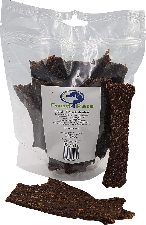 Food4Pets - Tiras para carne de caballo (250 g)
