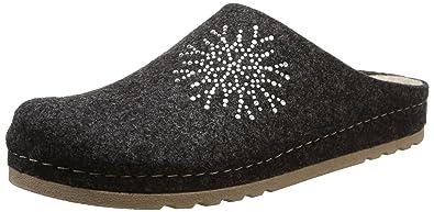 Rohde Riesa-D, Damen Pantoffeln, Grau (82 Anthrazit), 35 EU 0ebf215ceb