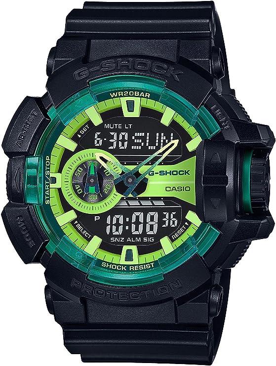 Gショック カシオ CASIO 腕時計 時計 G-SHOCK ライムアクセントカラー シリーズ アナデジ GA-400LY-1A [並行輸入品]