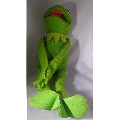 "Vintage 18"" Kermit the Frog Plush Felt Material: Toys & Games"