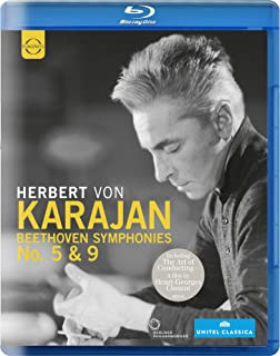 Beethoven:Symphonies 5 & 9 (Herbert von Karajan, Philharmonie Berlin, 1977)