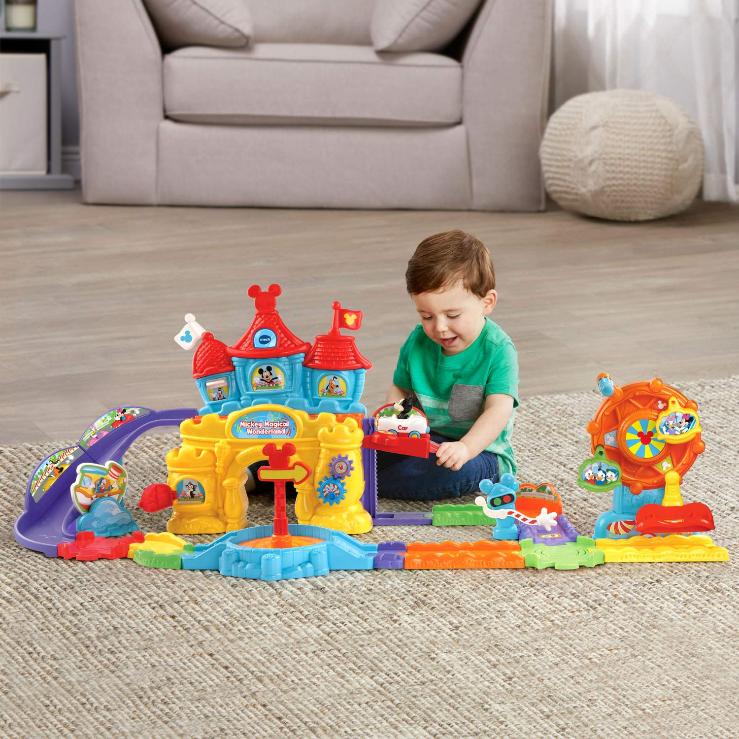 VTech Go! Go! Smart Wheels Mickey Mouse Magical Wonderland, Multicolor by VTech (Image #6)