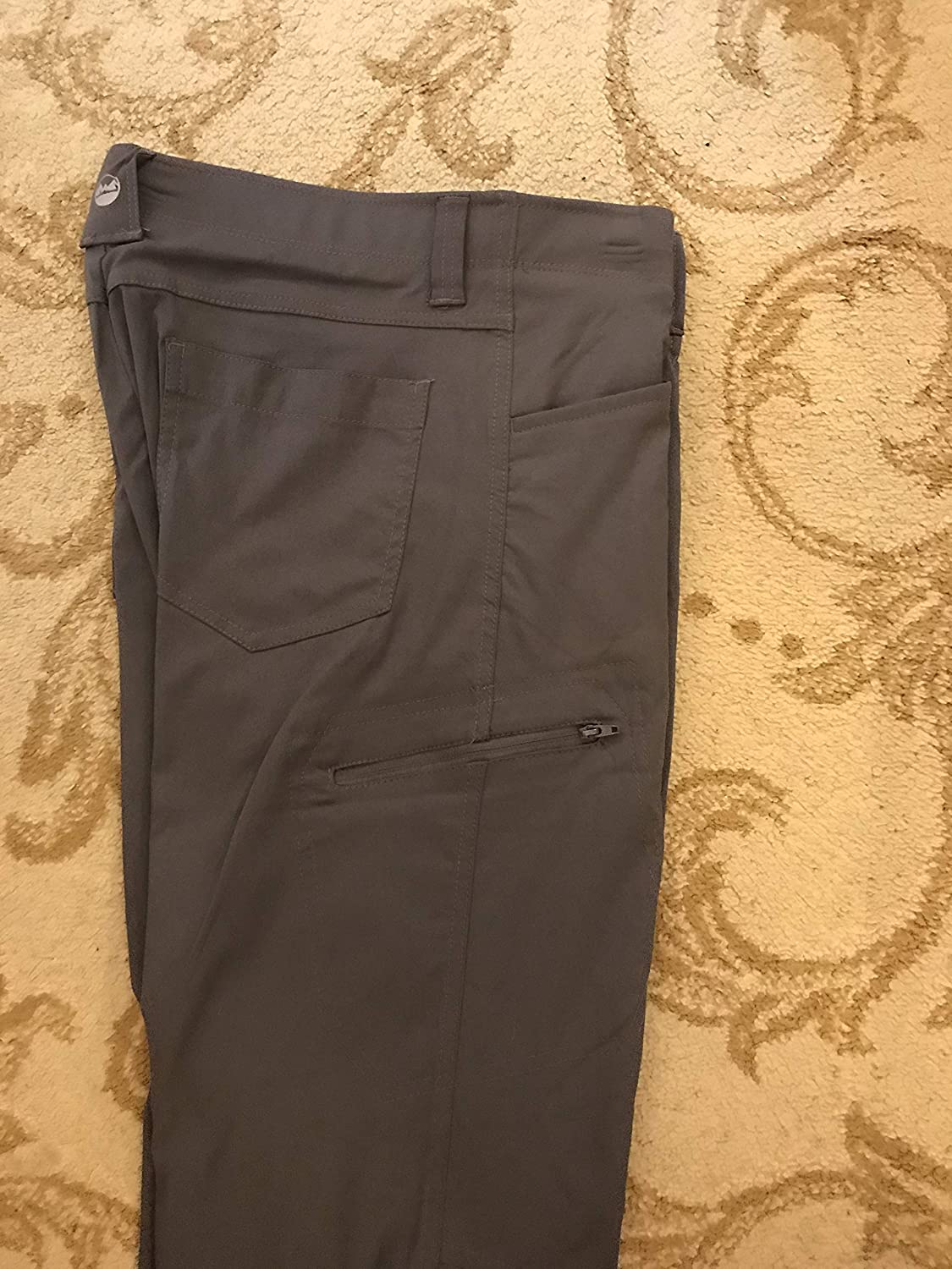 Wrangler Gray Outdoor Performance Cargo Pants