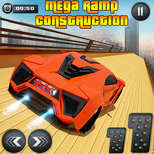 mega ramp extreme car - juego imposible de carreras de coches: Amazon.es: Appstore para Android