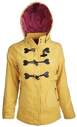 Amazon.com: Dollhouse - Chaqueta de lana con capucha para ...