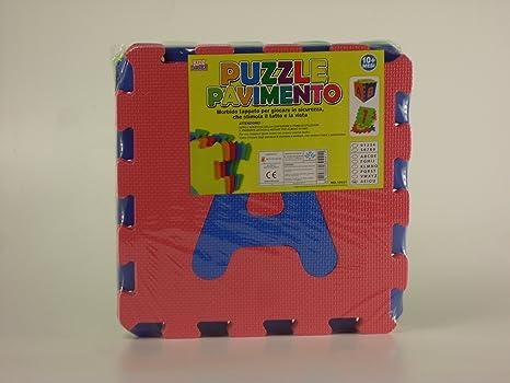 Tappeto mattonelle lettere colorate puzzle eva mat bambini