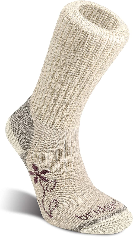Bridgedale womens Hike Midweight Boot Height- Merino Comfort Socks