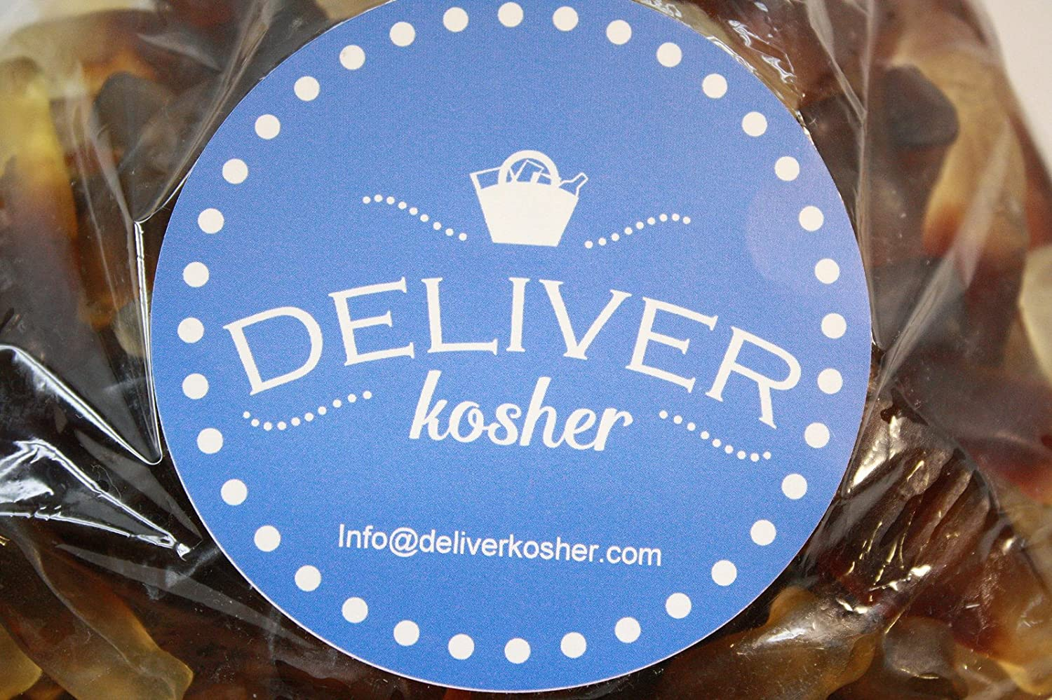 Amazon.com : Deliver Kosher Bulk Candy - Smooth Gummy Cola Bottles - 10lb Bag : Grocery & Gourmet Food