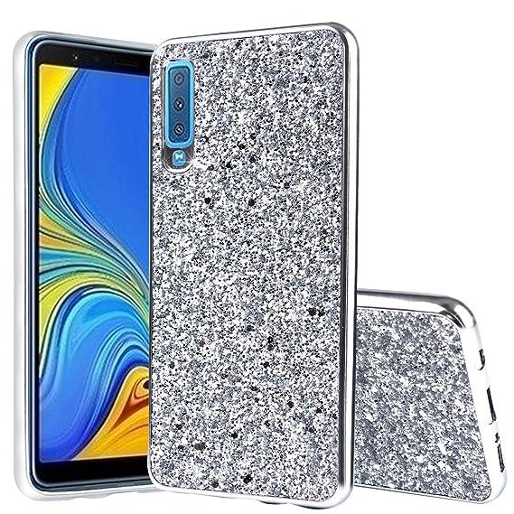 Amazon.com: Galaxy A7 2018 Case,DAMONDY Glitter Shiny Bling ...