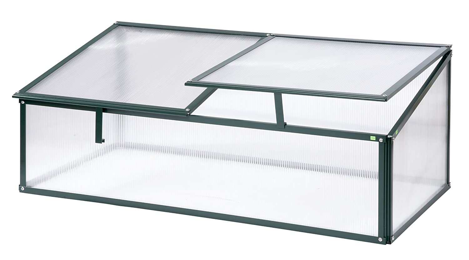 Polycarbonates single Safety Garden cold frame/Mini Grow House Propagator **OLD COTTAGE GREEN** Simplicity 00101