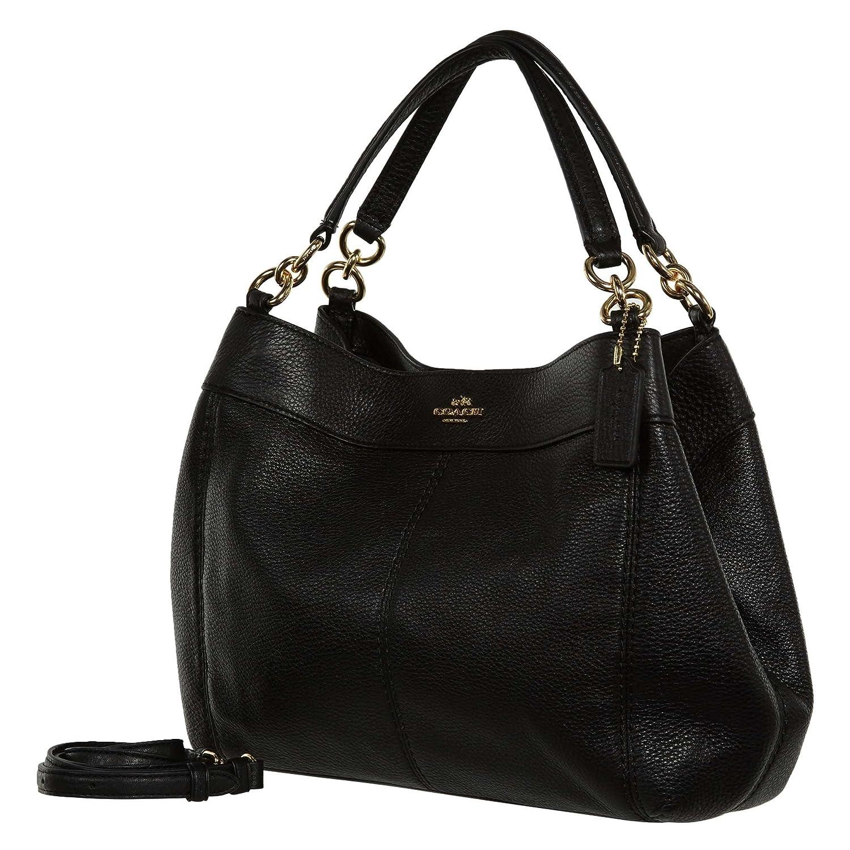 aa0bd0a0a88a Coach Pebbled Leather Small Lexy Shoulder Bag Handbag