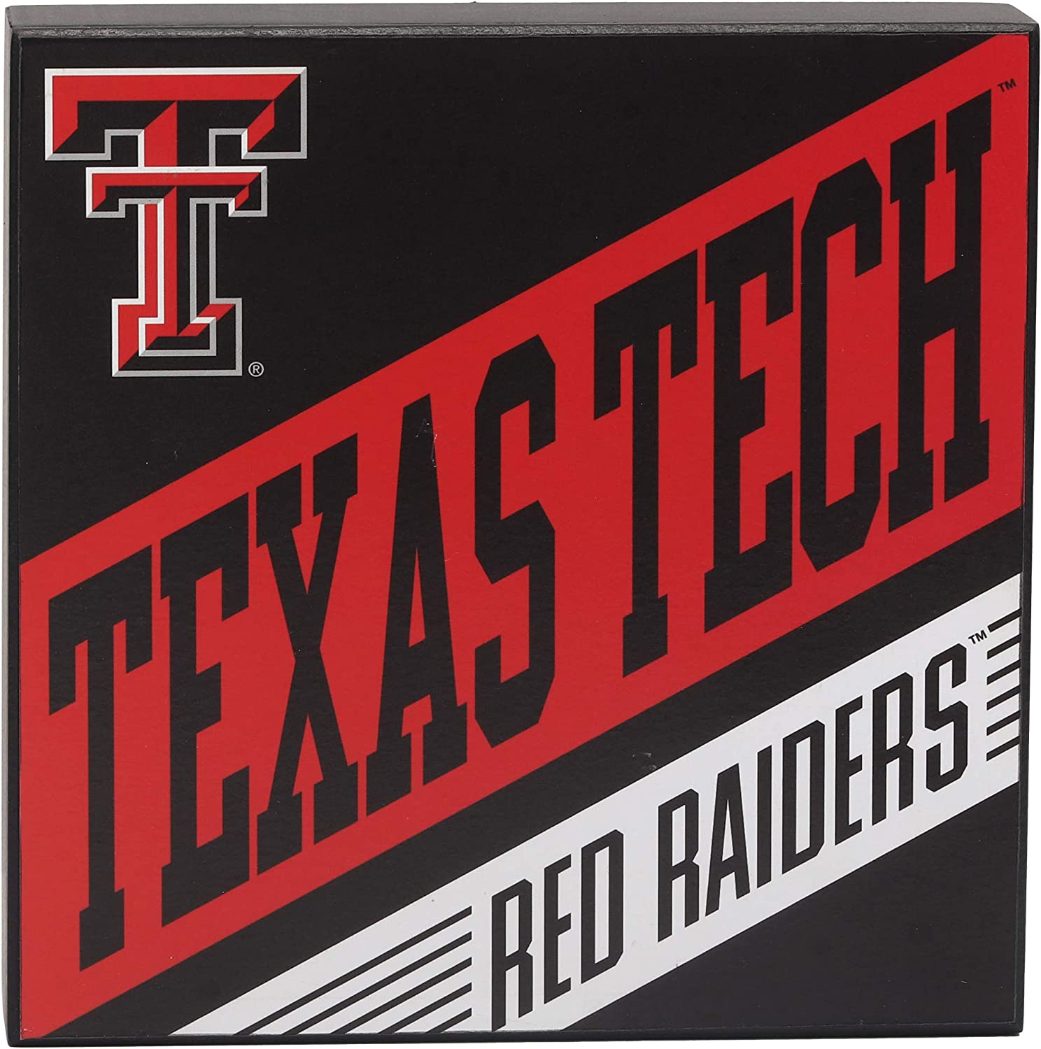 Open Road Brands Texas Tech University Red Raiders Wood Wall Décor