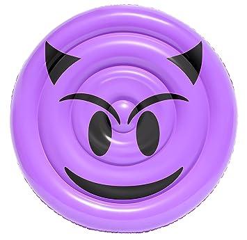 Sportsstuff Emoji Devil piscina flotador: Amazon.es: Deportes y aire libre