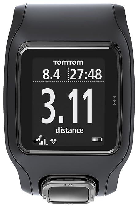 Tomtom Runner Cardio Gps Sportuhr Schwarz Amazonde Elektronik