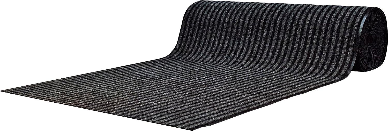 Cheapest-carpets Fußmatte Läufer Buenos Aires – 100 x 200 cm – grau B07DCMYMD1 Fumatten