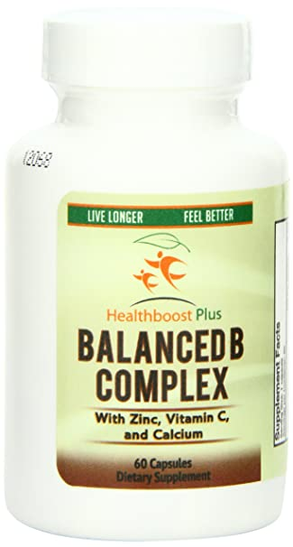 Amazon.com: healthboost Plus B Complejo con Zinc, Vitamina C ...