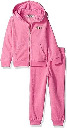 Juicy Couture Girls' Baby 2 Pieces Jog Set