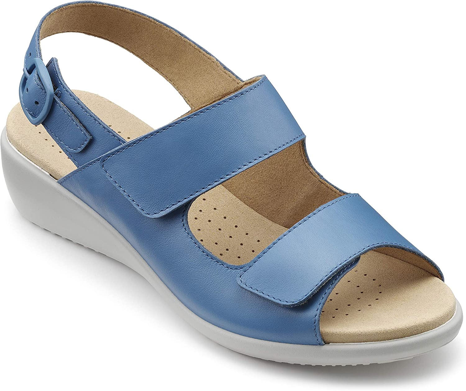 Hotter Easy Women's Sandals French Blue