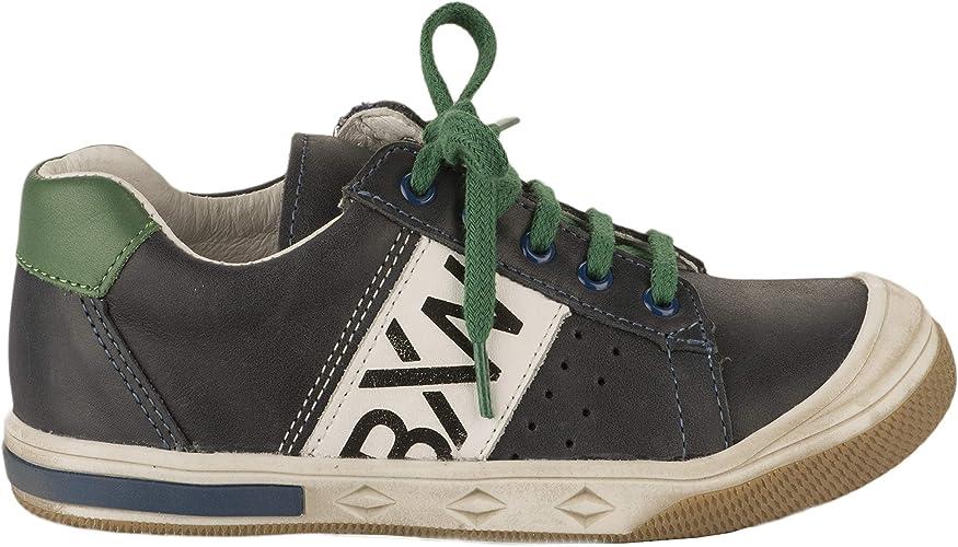 Bopy Baskets garçon Bleu Marine 28: : Chaussures