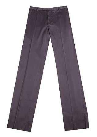 40299952c5a Saint Laurent Yves Women s Cotton Chino Pants Navy Blue  Saint Laurent   Amazon.co.uk  Clothing