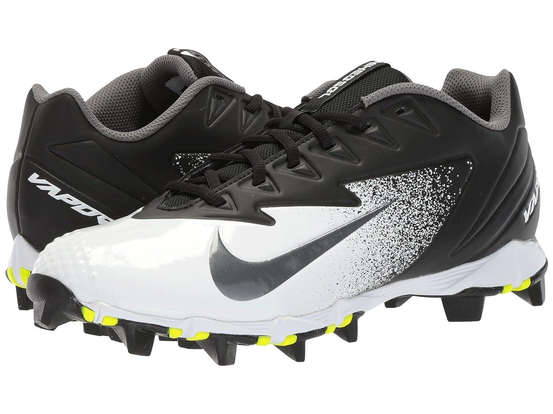 (ナイキ) NIKE メンズ野球ベースボールシューズ靴 Vapor Ultrafly Keystone Black/Metallic Silver/White 10 (28cm) D Medium B078PZRGSX