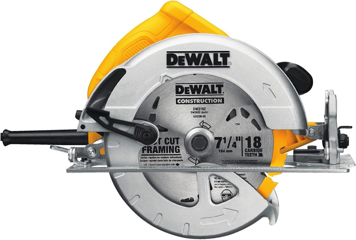 DEWALT DWE575 7-1 4 in. Lightweight Circular Saw