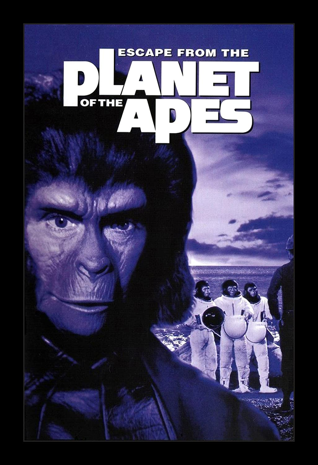 Escape From The Planet Of The Apes - 11x17 Framed Movie Poster by Wallspace